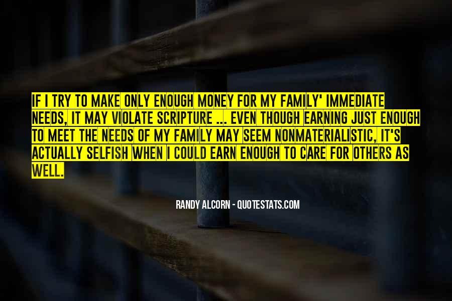 It's Just Money Quotes #192787