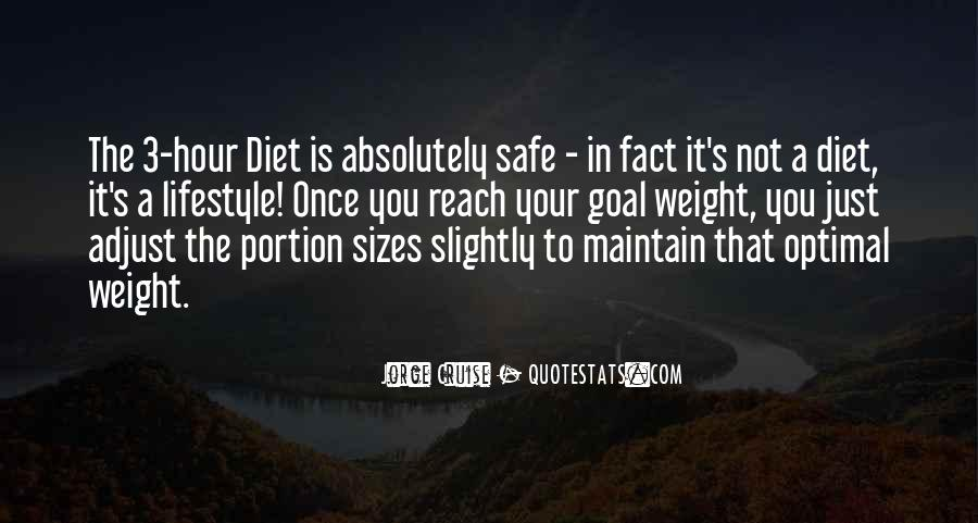 It's Not A Diet It's A Lifestyle Quotes #1226270