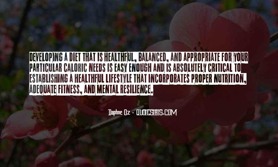 It's Not A Diet It's A Lifestyle Quotes #79462