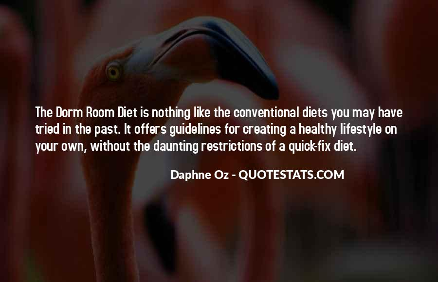 It's Not A Diet It's A Lifestyle Quotes #873344