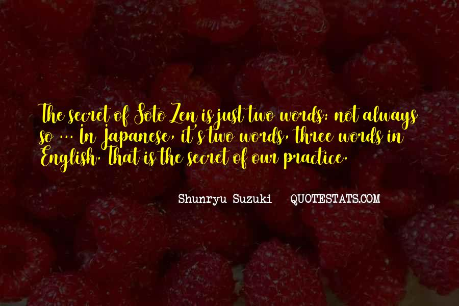 It's Not Just Words Quotes #114904