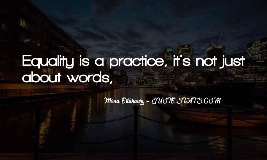 It's Not Just Words Quotes #1175607