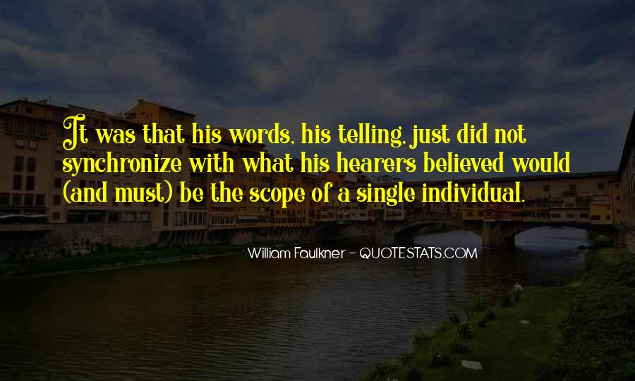 It's Not Just Words Quotes #395826