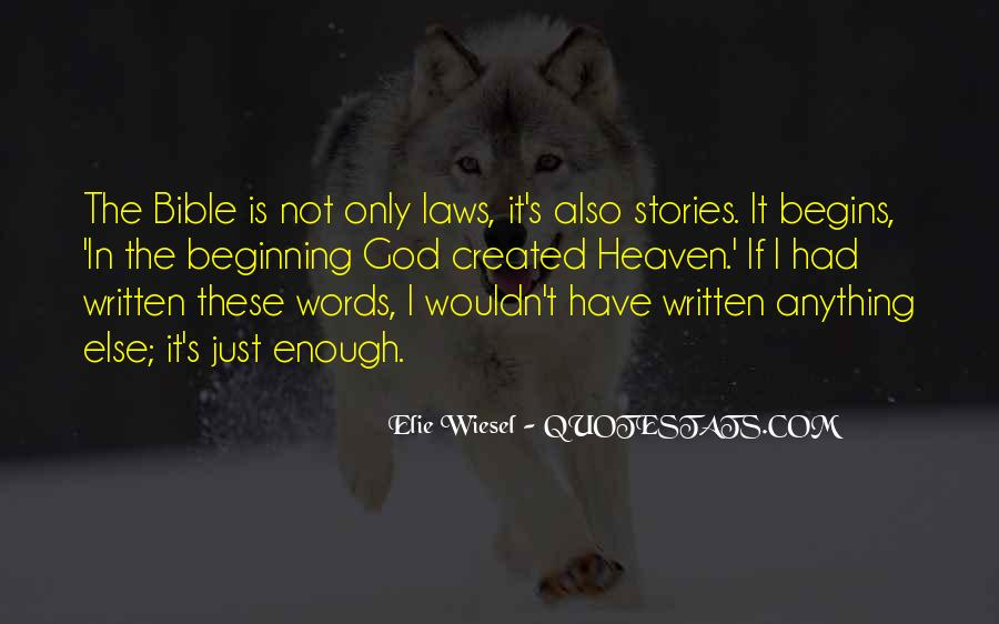 It's Not Just Words Quotes #682568