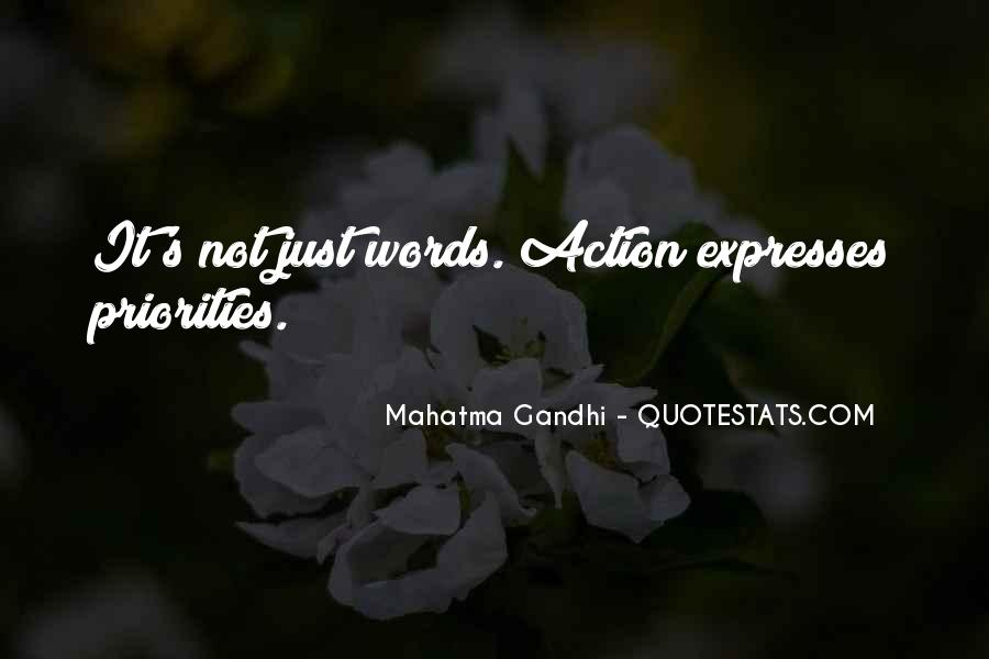 It's Not Just Words Quotes #96731