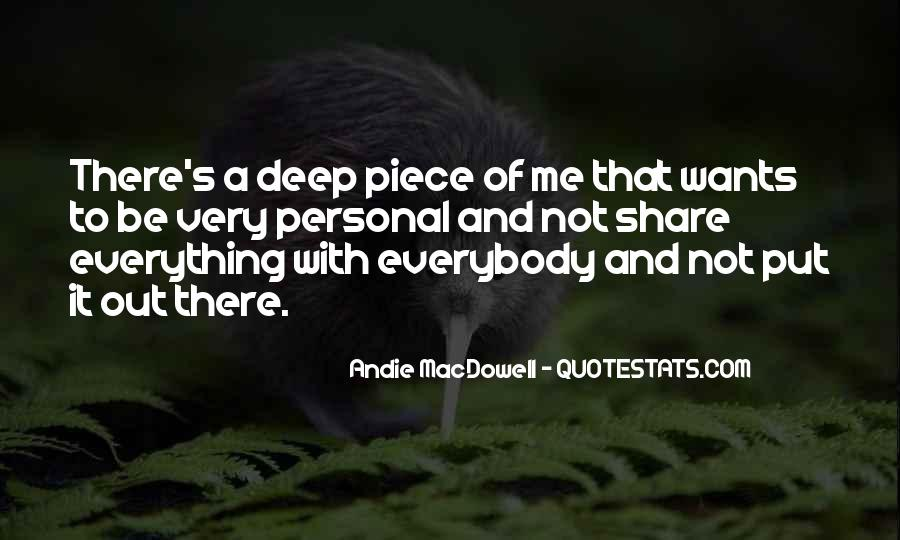 It's Not That Deep Quotes #888005