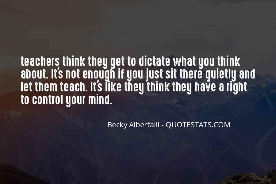 It's Not What You Think Quotes #102558