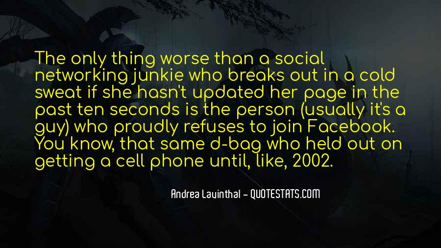 It's Only Facebook Quotes #164736