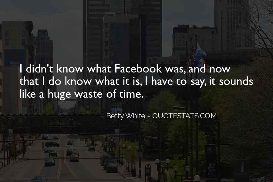 It's Only Facebook Quotes #5297