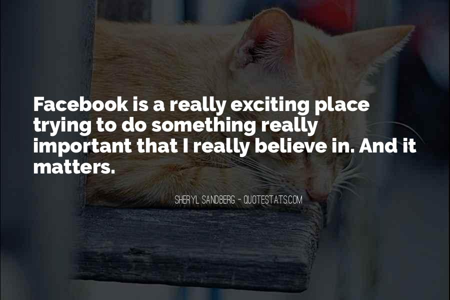 It's Only Facebook Quotes #54123