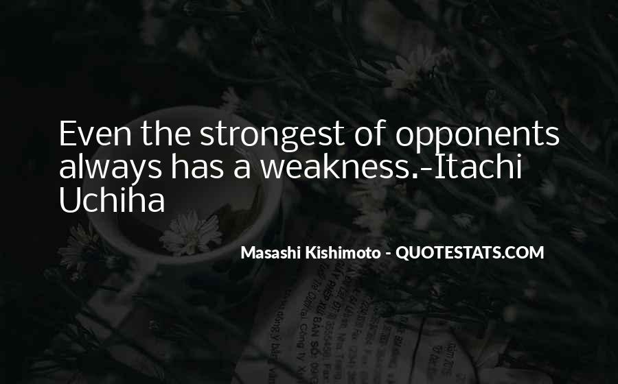 Itachi's Quotes #980633