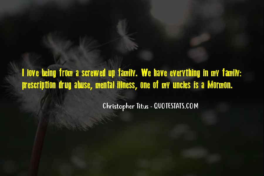 Quotes About Family Being Everything #1170916