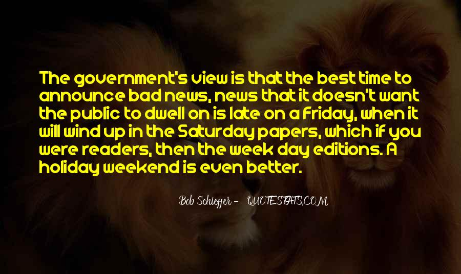 Its A Friday Quotes #270937