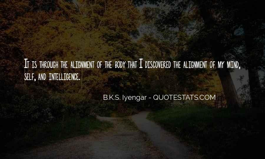 Iyengar Quotes #182960