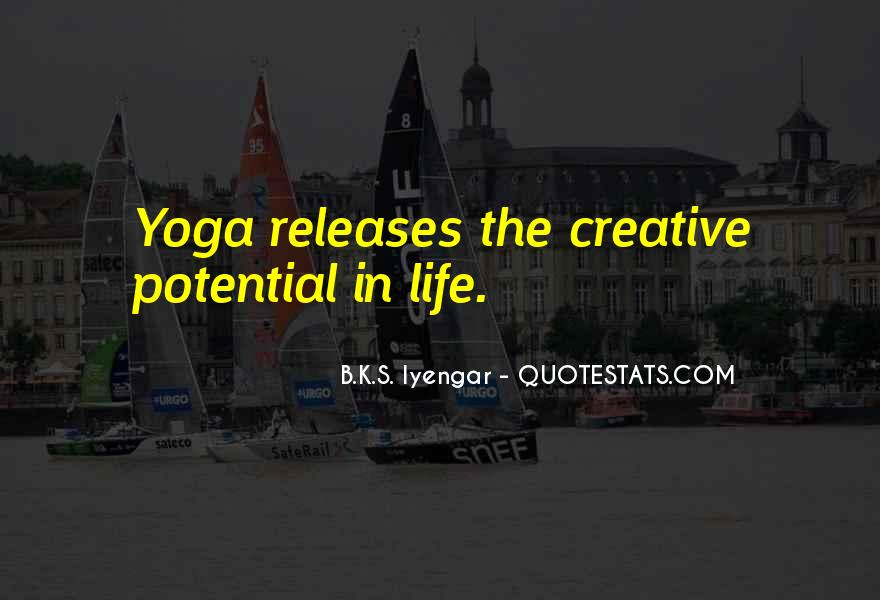Iyengar Quotes #206467