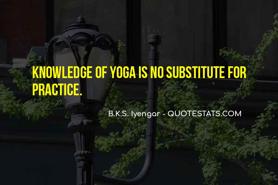Iyengar Quotes #224289