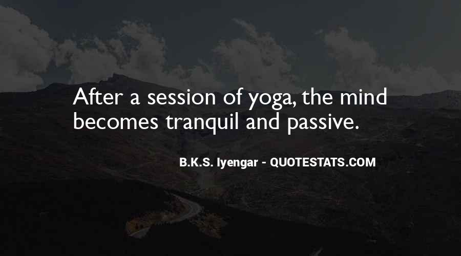 Iyengar Quotes #246784