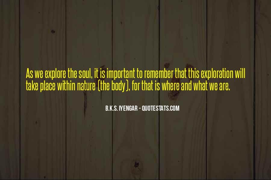 Iyengar Quotes #250271