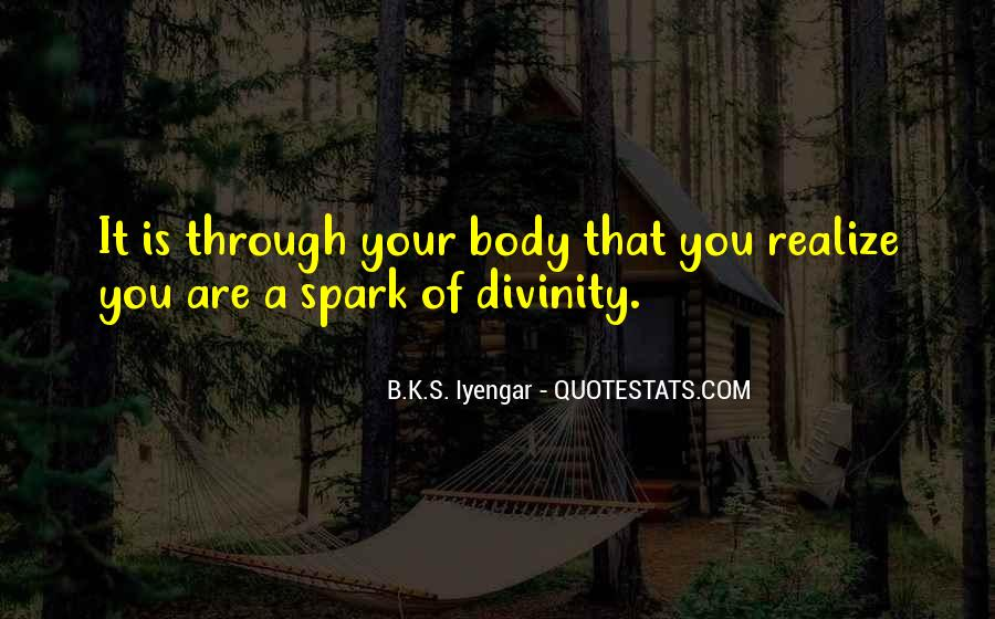 Iyengar Quotes #325289