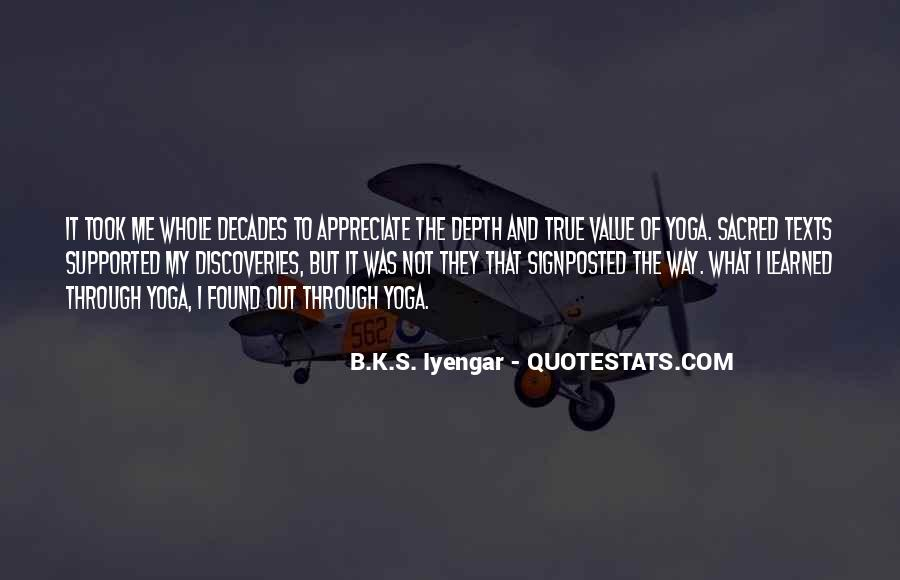 Iyengar Quotes #392140