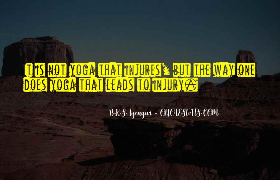 Iyengar Quotes #405013