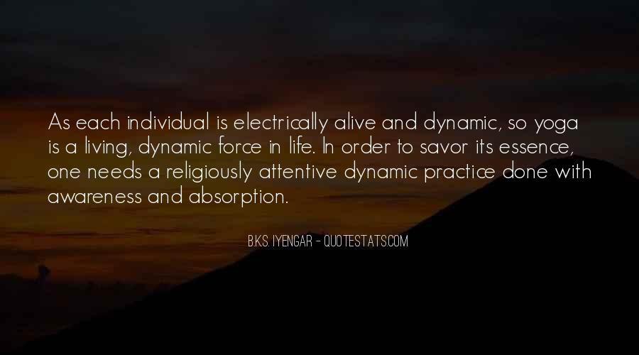 Iyengar Quotes #406202