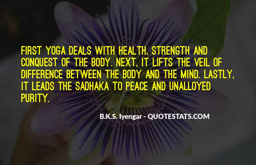 Iyengar Quotes #447691