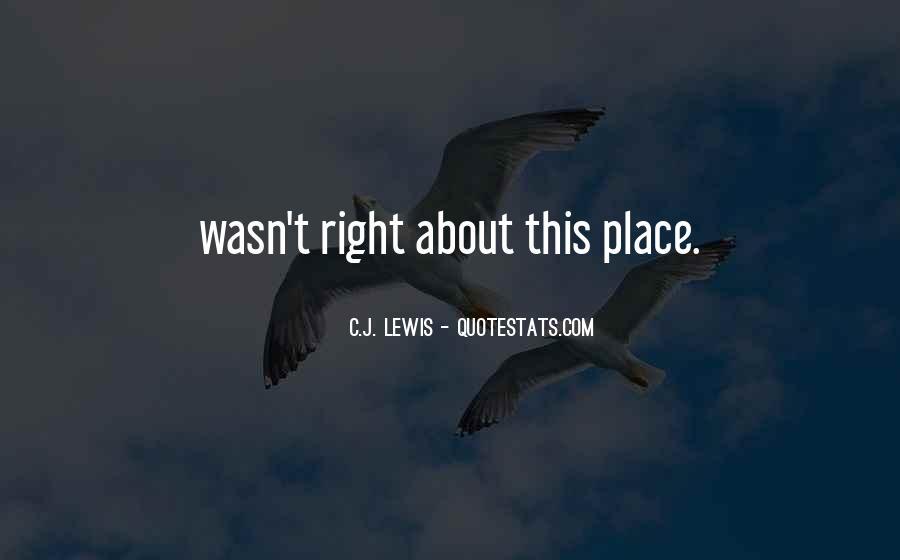 J C Lewis Quotes #129078