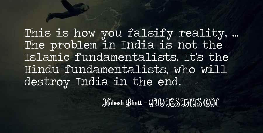 Quotes About Falsify #1185907