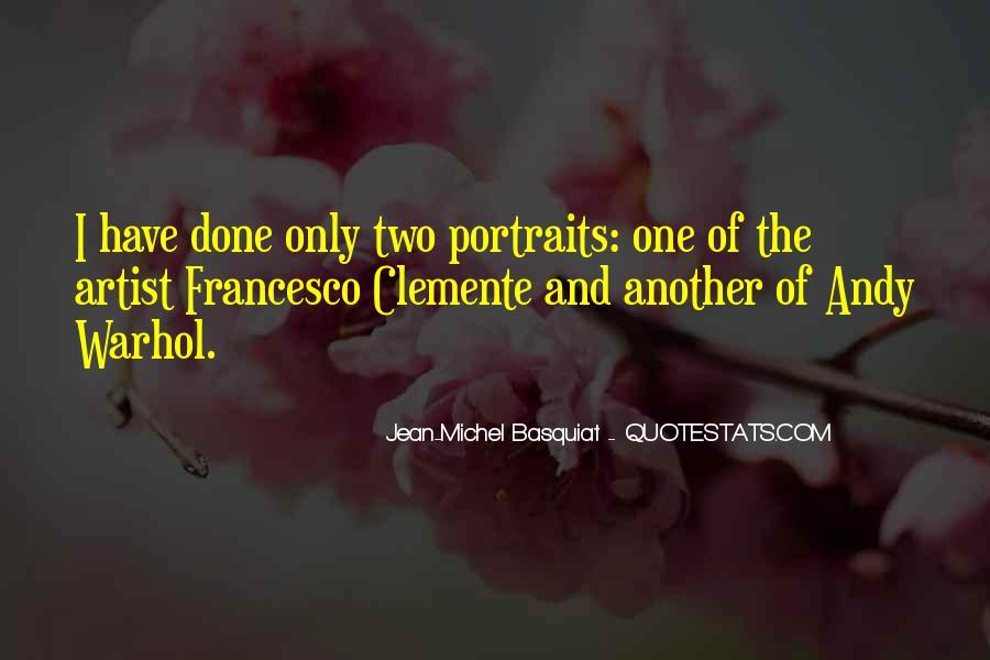 J M Basquiat Quotes #1114393