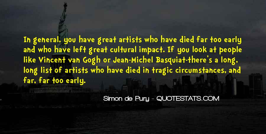 J M Basquiat Quotes #329477