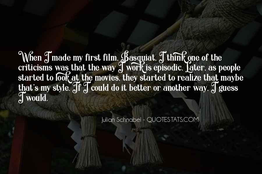 J M Basquiat Quotes #416556