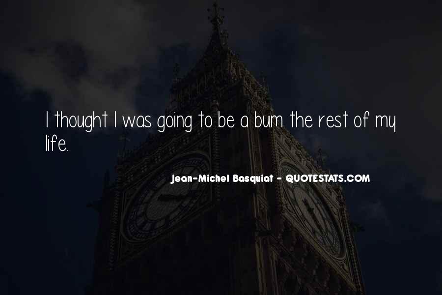 J M Basquiat Quotes #474294