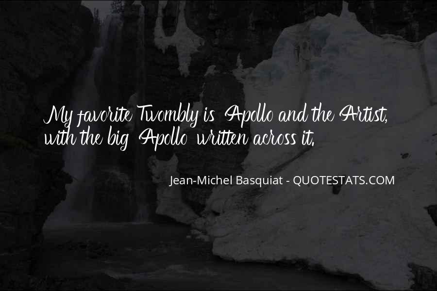 J M Basquiat Quotes #491882