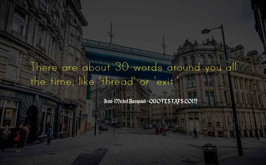 J M Basquiat Quotes #670183