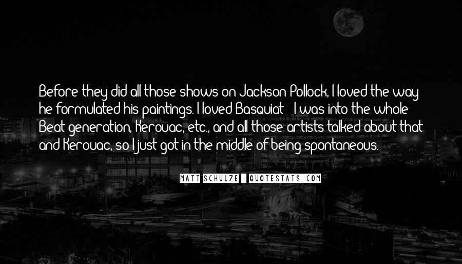 J M Basquiat Quotes #813288