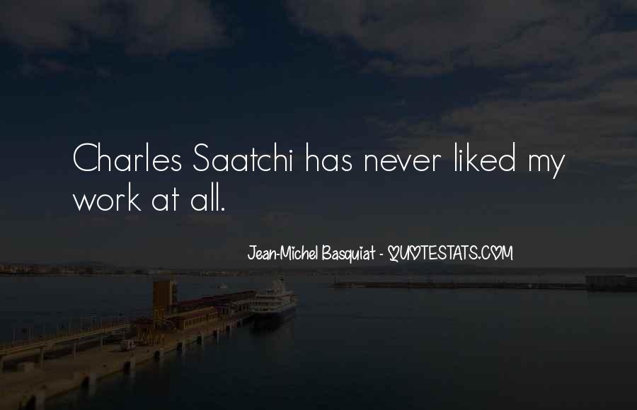 J M Basquiat Quotes #899498