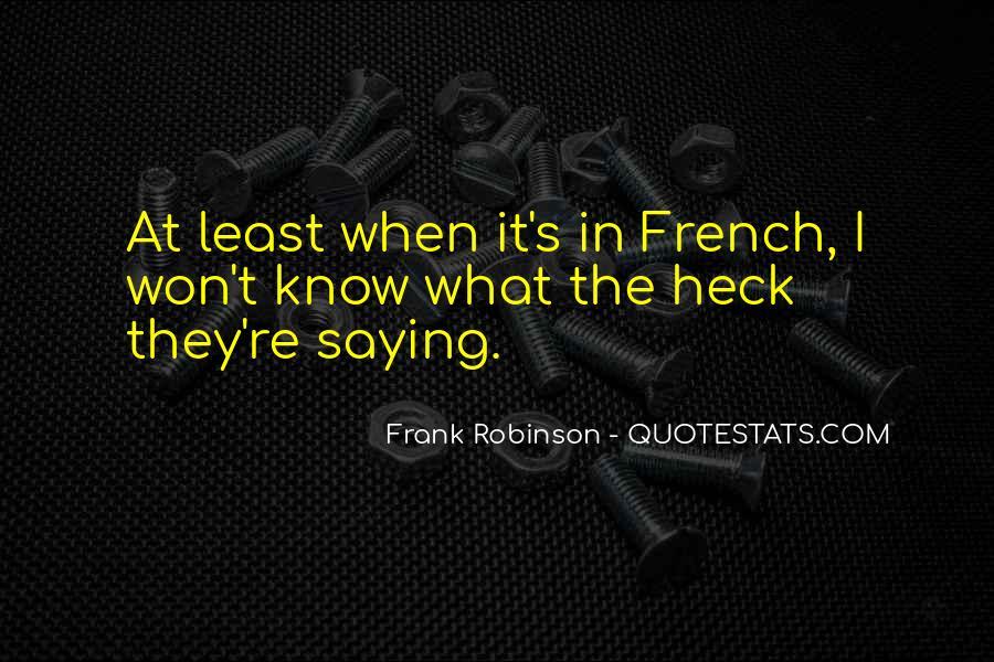 J Robinson Quotes #47284