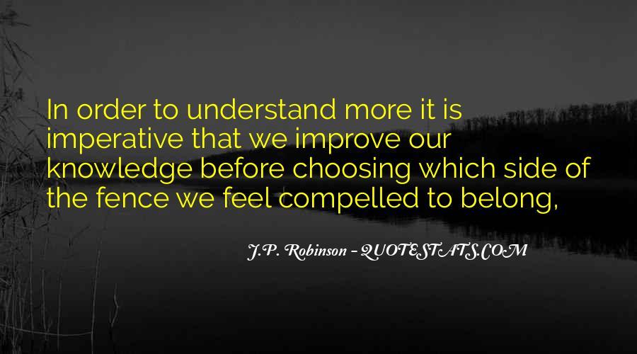 J Robinson Quotes #64114