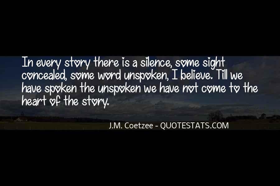 J.m Coetzee Foe Quotes #1099384