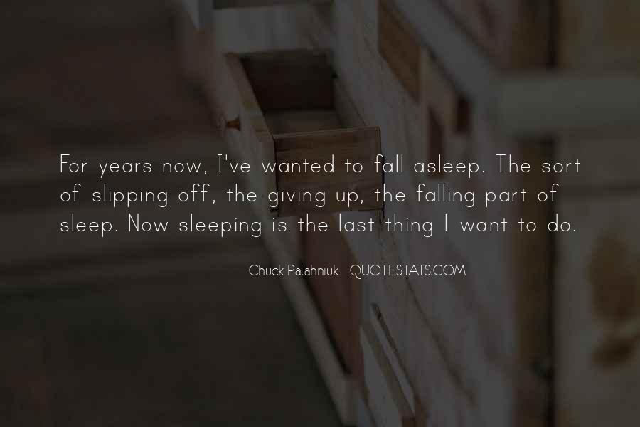 Quotes About Falling Off #400105