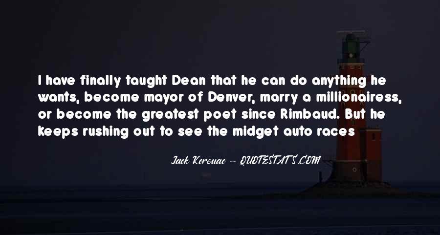 Jack Kerouac Denver Quotes #1173510