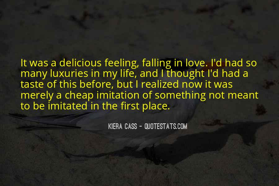 Quotes About Falling In Love With Your First Love #157914