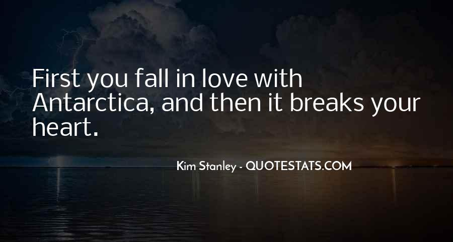 Quotes About Falling In Love With Your First Love #1776927