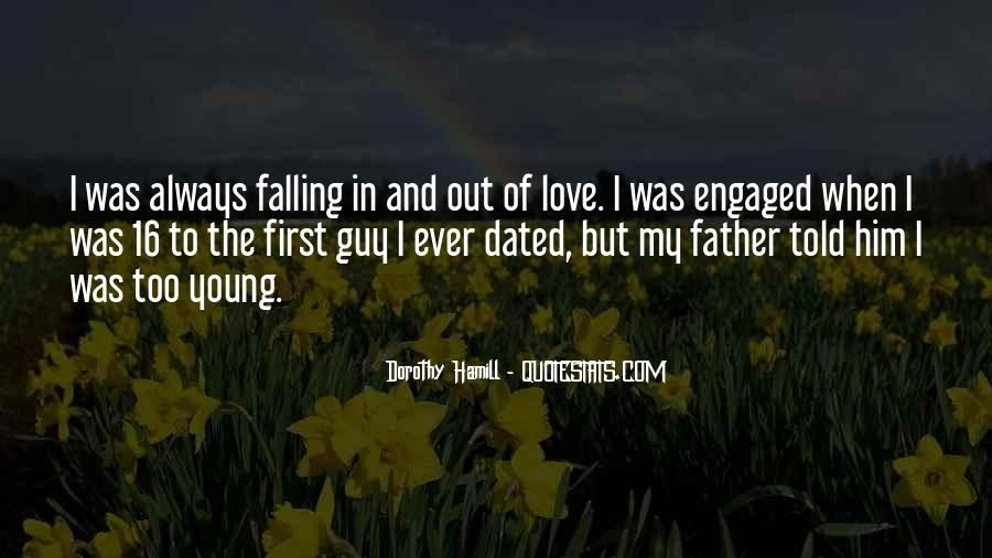 Quotes About Falling In Love With Your First Love #20897