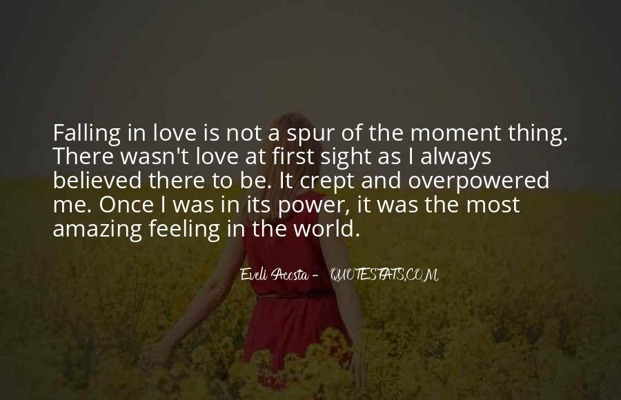 Quotes About Falling In Love With Your First Love #443243