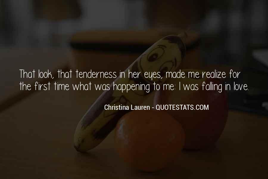 Quotes About Falling In Love With Your First Love #467807