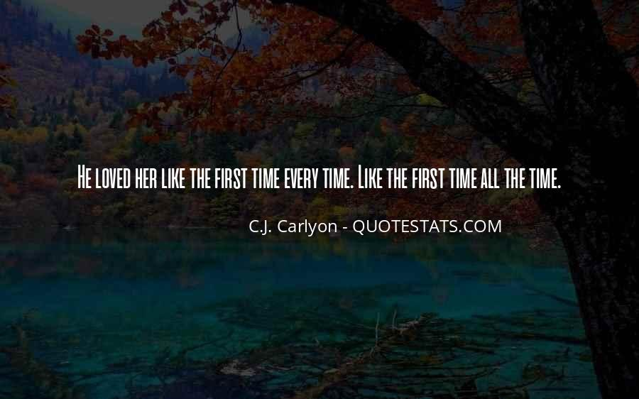 Quotes About Falling In Love With Your First Love #515493