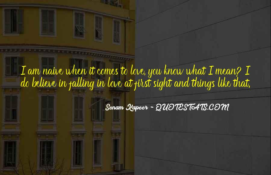 Quotes About Falling In Love With Your First Love #777948