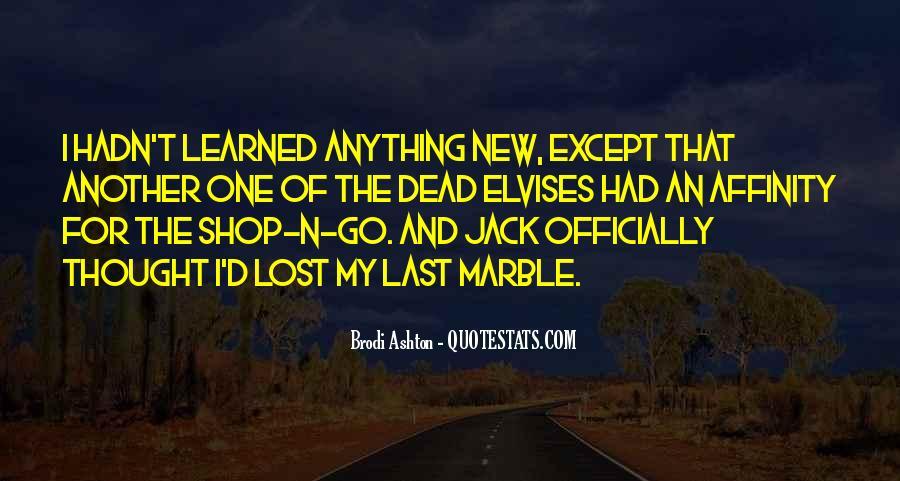 Jack U Quotes #8441